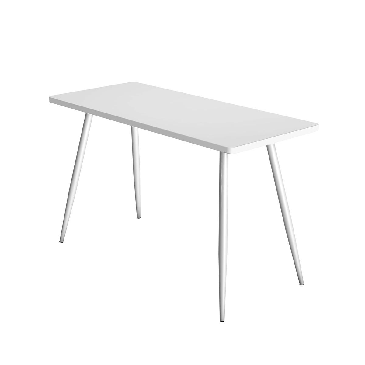 White Student Office Table