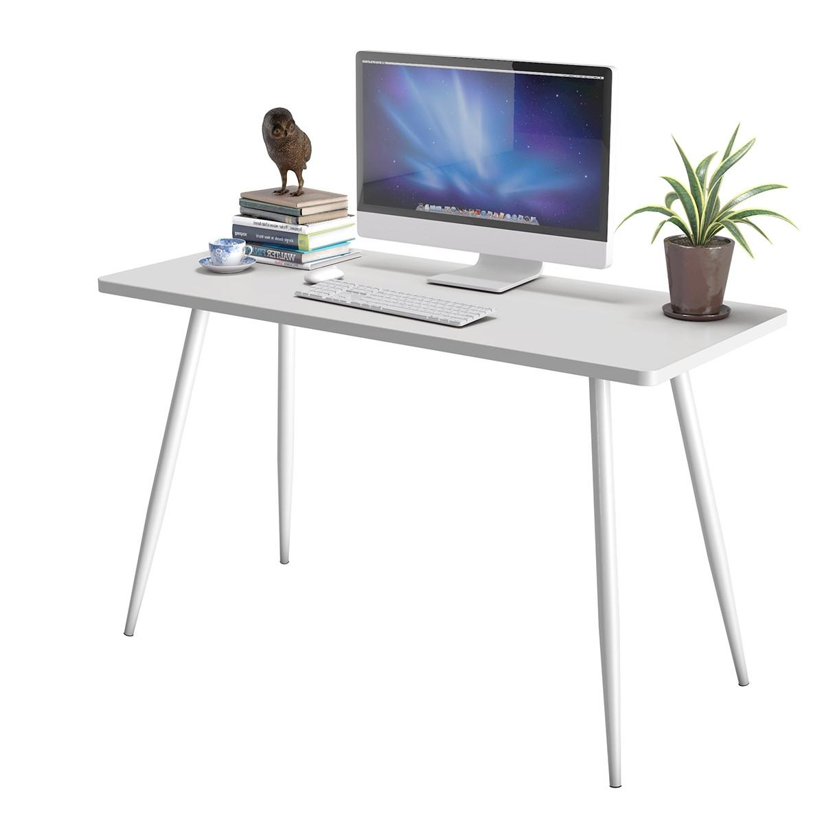 White Writing Desk Student Table Workstation NEW