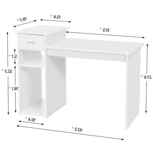 Laptop Home Office Furniture White
