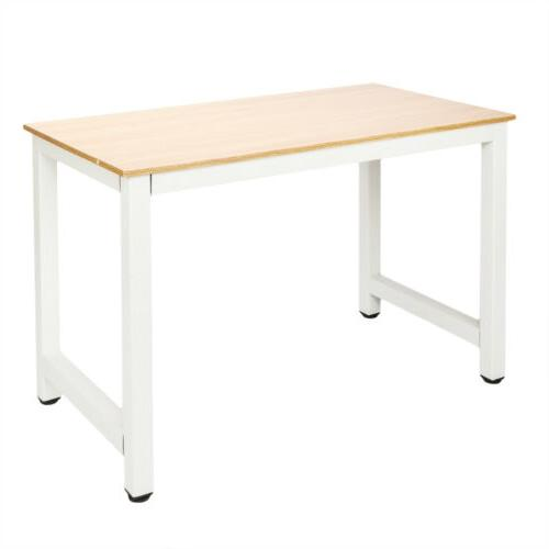 Wood Computer Laptop Table Workstation Home Furniture