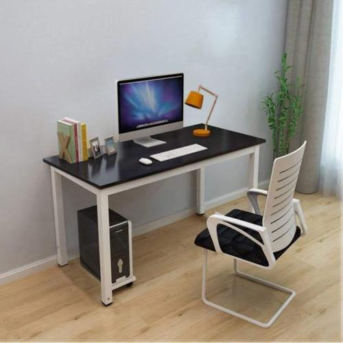 Modern Office Computer Laptop Wooden Desk Study Table Workst