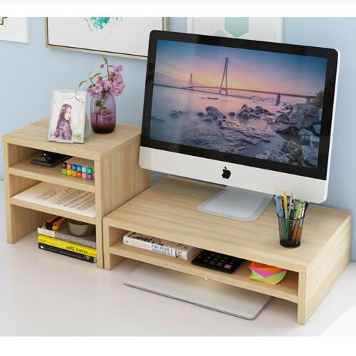 Wood Screen Desk Organizer Office Table