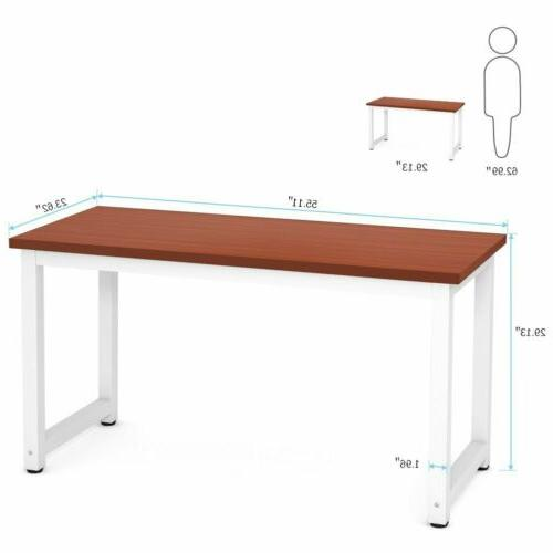 2019 Tribesigns Computer Desk, Modern Simple Home Office Des