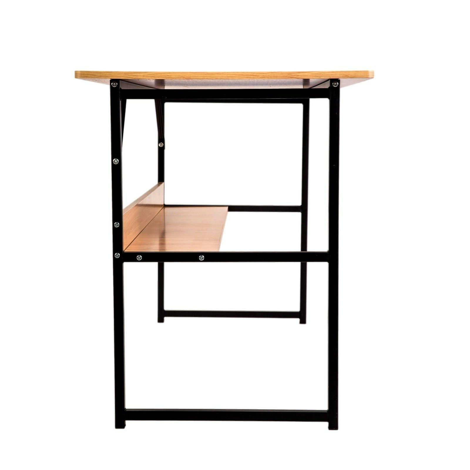 ZIMPLIFE Home Office PC Corner Computer Table