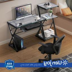 Multi-Types Computer Desk Corner PC Laptop Table Workstation