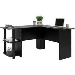 Best Choice Products L-Shaped Corner Computer Desk Study Wor