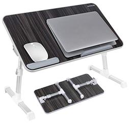 Laptop Bed Tray Table, Nearpow  Adjustable Laptop Bed Stand,