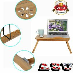 Laptop Table Desk Stand Lap Sofa Bed Tray Computer Notebook