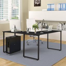 Large L-Shaped Computer Desk Workstation  Corner Home Office