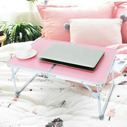 Home Lazy Large Bed Tray Laptop Computer Desk Foldable Lapto
