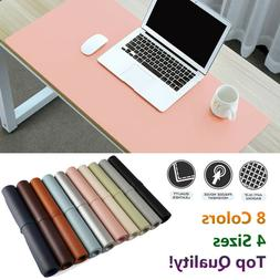 Leather Office Computer Desk Mat Table Game Keyboard Mouse P