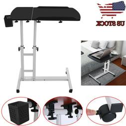 Lifting And Folding Computer Desk Height Adjustable Bed Side