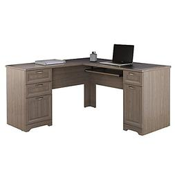 Realspace Magellan Collection L-Shaped Desk, Gray Item # 822