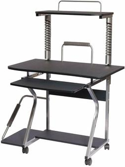 Techni Mobili Mobile Upright MDF Computer Desk, Graphite