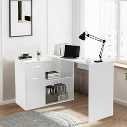 Small Spaces PC Laptop Table Modern Computer Desk Study Offi