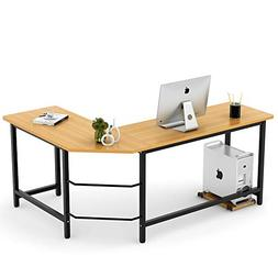 Tribesigns Modern L-Shaped Desk Corner Computer Desk PC Lato