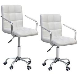 Modern Office Leather Chair Swivel Executive Computer Desk T