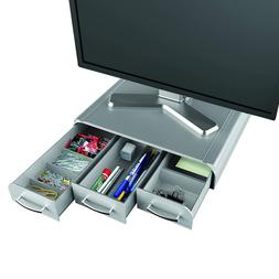 Monitor Stand And Desk Organizer Storage Heavy Duty For PC C