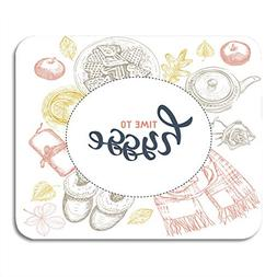 Emvency Mouse Pads Hygge is Danish Living Cozy Home Things C