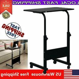 Movable Computer Desk Adjustable PC Table Study Home Office