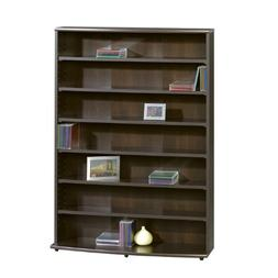 Sauder Multimedia Storage Tower - Cinnamon Cherry , Cherry