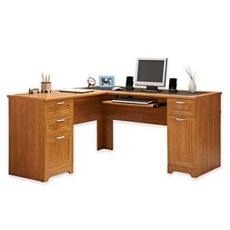 NEW L-Shaped Office DESK  FREE S&H