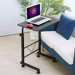 New Laptop Desk Cart Table Stand Mobile Computer Rolling Adj