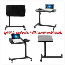 New Mobile Stand Up Desk/Height Adjustable Computer Work Sta
