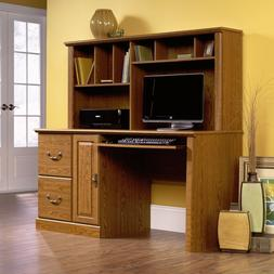 New Sauder Orchard Hills Computer Desk with Hutch Drawers Ca