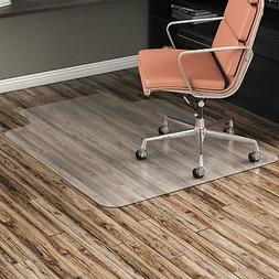 """Alera Non-Studded Chair Mat for Hard Floor 36"""" x 48"""" with Li"""