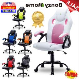 Office Chair Executive Gaming Computer Desk Seat Adjustable