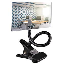 Gosear Office Clip On Cubicle Mirror, Computer Rearview Mirr
