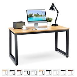 "Office Computer Desk – 55"" x 23"" Beige Laminated Woode"