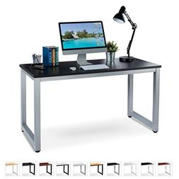 "Office Computer Desk – 55"" x 23"" Black Laminated Woode"