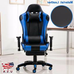 Office Gaming Chair Racing Recliner Bucket Seat Computer Des