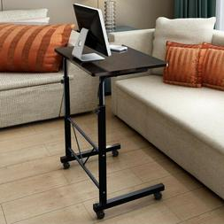 office laptop desk rolling adjustable portable table