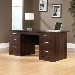 office port executive desk dark