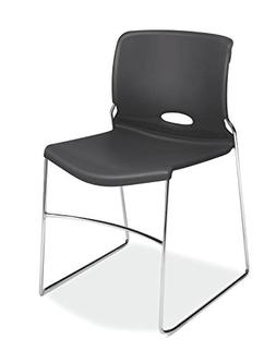 HON Olson Stacking Chair - Guest Chair for Office, Cafeteria
