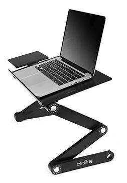 Ibepro® Portable Adjustable Aluminum Laptop Desk/stand/tabl