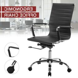 High Back PU Leather Office Chair Executive Task Ergonomic C