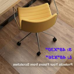 PVC Chair Floor Mat Door Rug Home Office Computer Desk Carpe