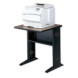 Safco Reversible Top Fax/Printer Stand - Steel - Black