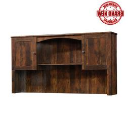 Sauder Harbor View Corner Computer Desk Hutch, Curado Wood W
