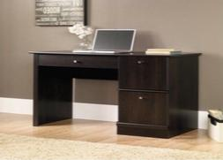 Sauder Select Computer Desk with Keyboard Tray in Cinnamon C