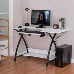 Sewing Craft Table Computer Desk with Adjustable Platform Fo