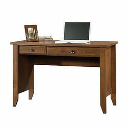Shoal Creek Computer Desk in Oiled Oak Finish