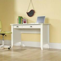 Sauder Shoal Creek Computer Desk in Soft White Finish
