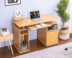 Merax SM000003 Essential Home Office Computer Desk with Pull