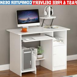 Small Computer Desk Student Laptop Study Table with Drawer H