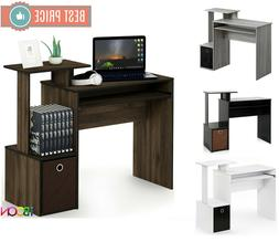 Small Computer Desk Table Wood Office PC Laptop Workstation